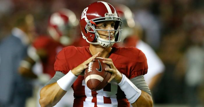 Nick Saban details what it'll take to win Alabama's starting QB job