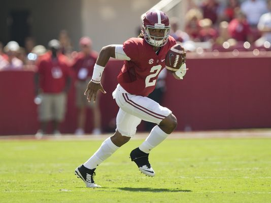 Hurts settling in for the long haul as Tide's starter